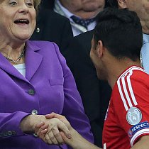 Champions League Finale - Merkel gratuliert