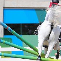 Olympische Spiele - Springen