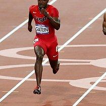 Olympische Spiele - 100m - Usain Bolt