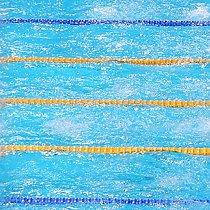 Schwimm-WM - Spiegelung