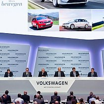 Volkswagen-Jahrespressekonferenz