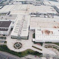 Volkswagen plant Shanghai - Luftbild