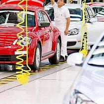 Beetle Endkontrolle - Volkswagen de Mexico