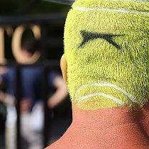 Wimbledon - Tennisball-Kopf